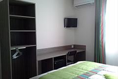 Chambres climatisées avec TV