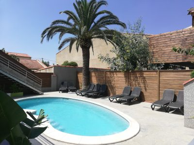 Swimming pool Hotel 3 stars Canet