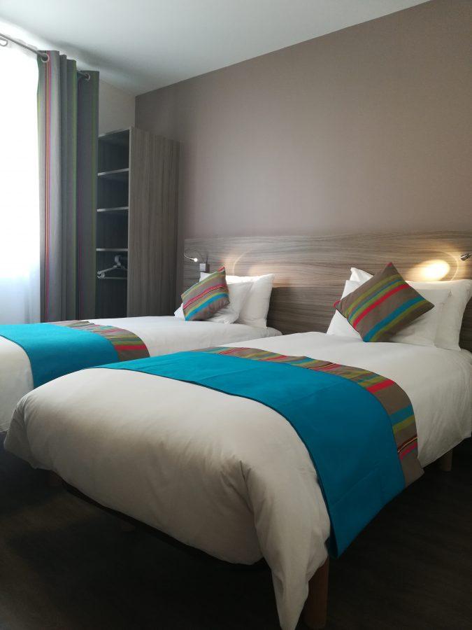 Chambre 2 lits Canet-en-Roussillon